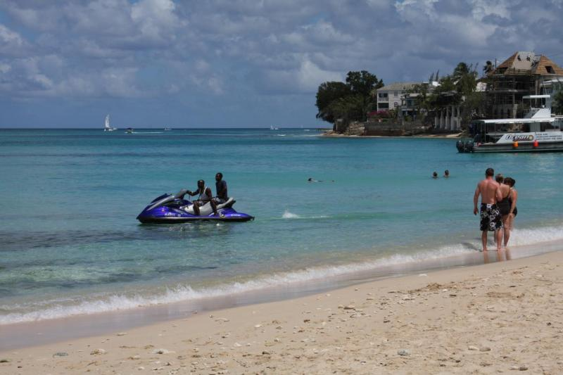 Beach holiday in Barbados